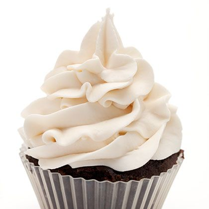 All you do is mix one vanilla pudding packet with half of the milk called for on the package.  Whisk until it begins to thicken.  Then fold in one container of Cool Whip. A great frosting spread on cakes and piped onto cupcakes, a tasty filling in crepes or on waffles along with some fruit.