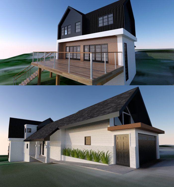 Modern Farmhouse Remodel Addition Design Sylvan Lake Farmhouse