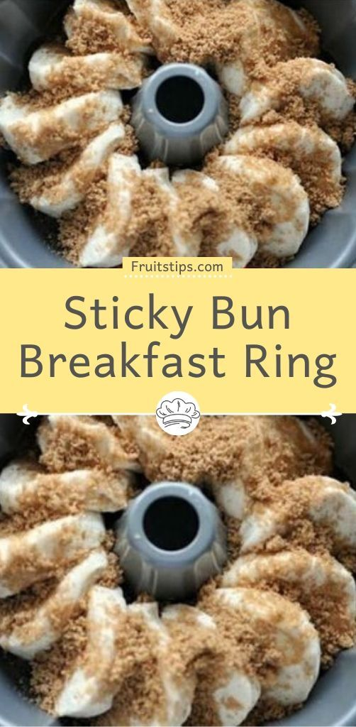 Sticky Bun Breakfast Ring In 2020 Biscuit Recipes Dinner Sticky Buns Breakfast Biscuit Recipe