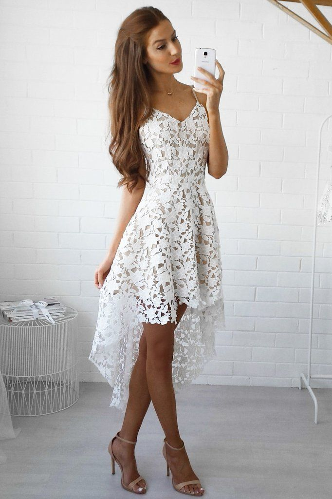ELECTRA DRESS - WHITE **LIMITED STOCK**