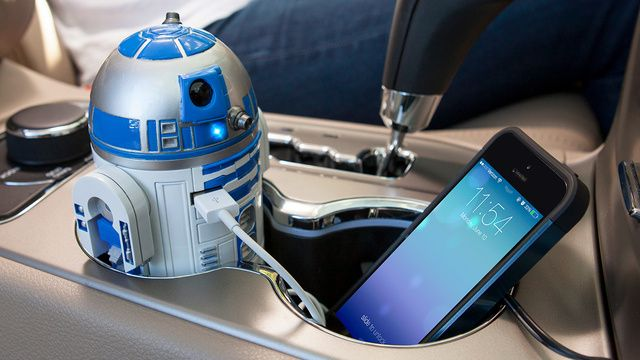 Geeking out for this R2-D2 USB charger