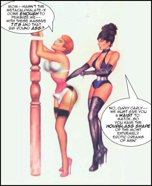 strapon forced castration Femdom and