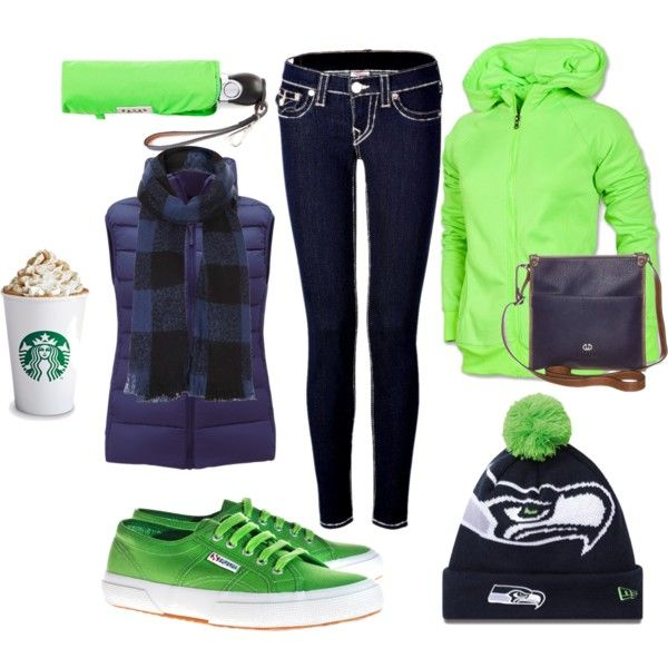 """Seahawks Game"" by myredeemedlife on Polyvore"