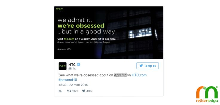 HTC'nin Yeni Amiral Gemisi; HTC 10   Rella Blog