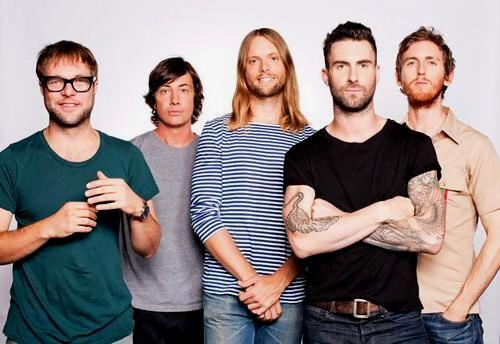 Canal Electro Rock News: Maroon 5 divulga datas e locais dos shows no Brasil em 2016