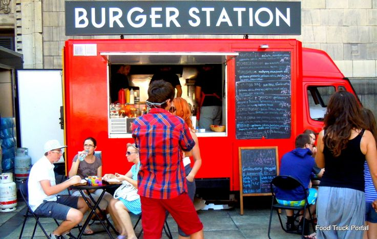Food Truck - Burger Station