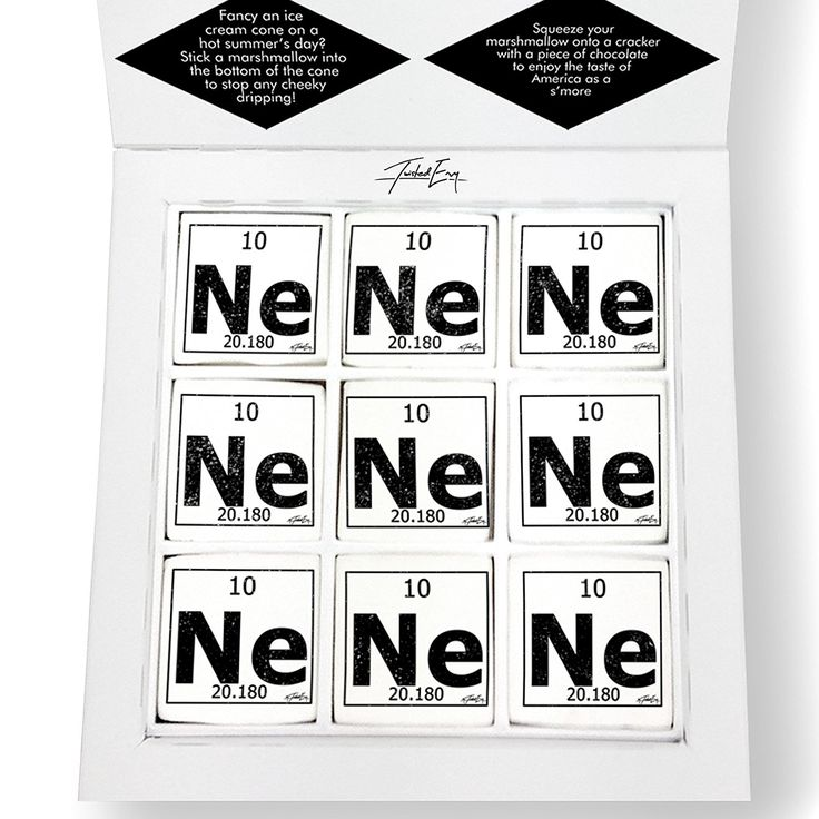 Twisted Envy Periodic Table Of Elements Ne Neon Printed Magical Marshmallows ** Review more details here