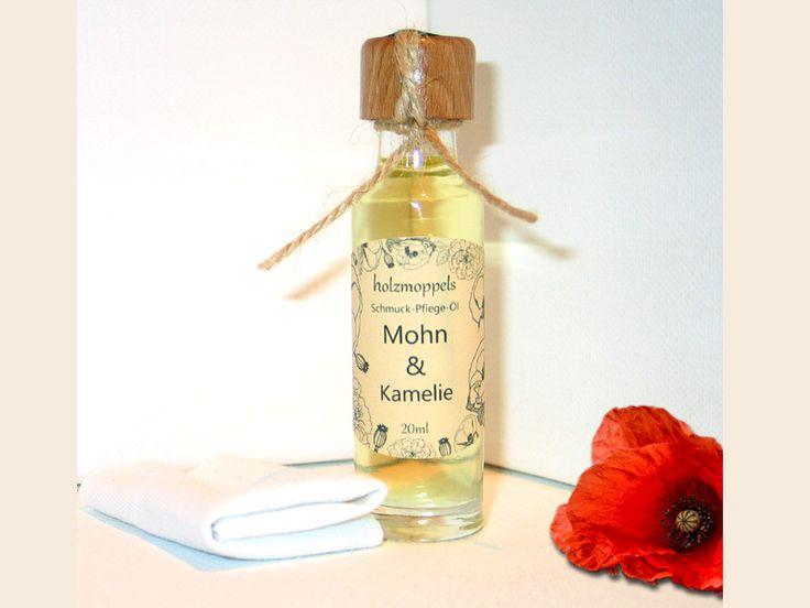 Pflegemittel - Holzschmuck-Pflege-Öl Mohn