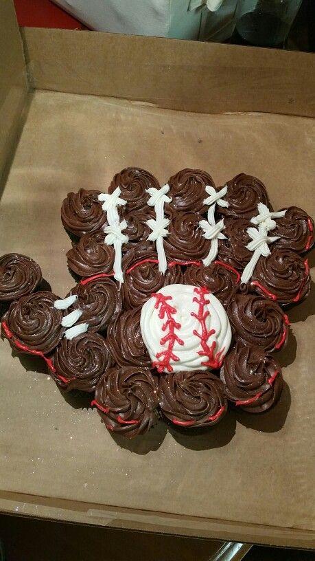 Cupcake Baseball glove