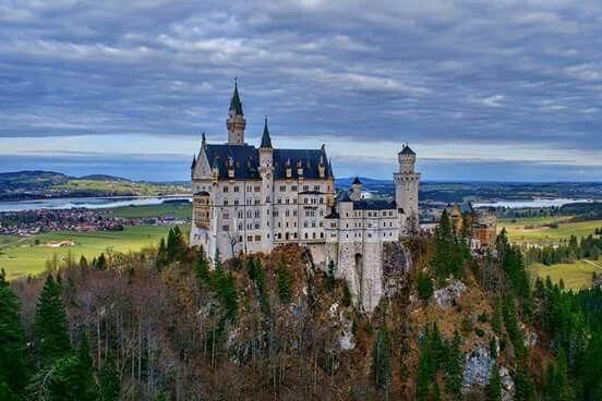 Castello di Neuschwanstein,Baviera,Germania