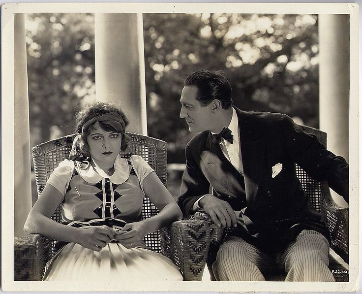 "Corinne Griffith and Lou Tellegen, ""Single Wives"" …"