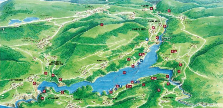 Planorama du Monteynard