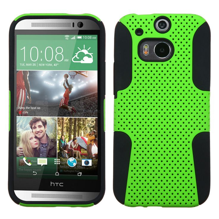 MYBAT Astronoot Protector Case for HTC One M8 - Green/Black