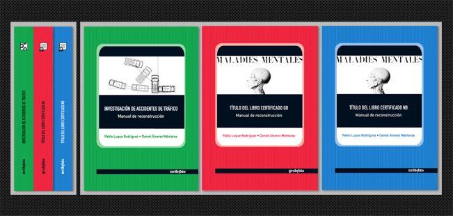 { Manuales de Formación } Cubiertas de libros destinados al sector educativo y laboral de España.