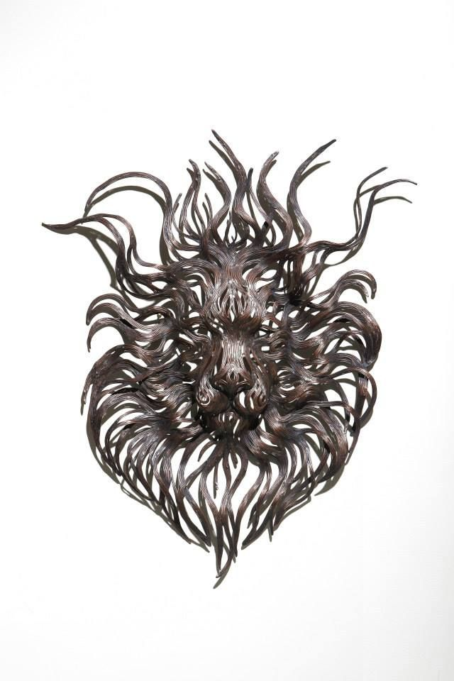 Les Sculptures animalières de Bandes métalliques de Sung Hoon Kang (19)