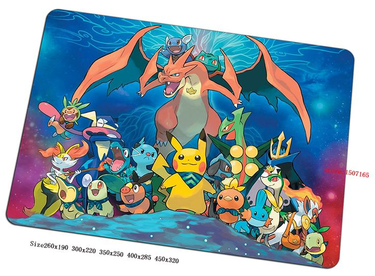 pokemon mouse pad cool gaming mousepad gear cool gamer mouse mat pad game computer Adorable padmouse  photo play mats