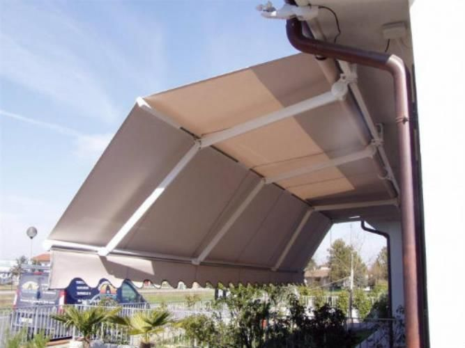 Tenda a braccio estensibile grandangolo - tende da sole #awnings