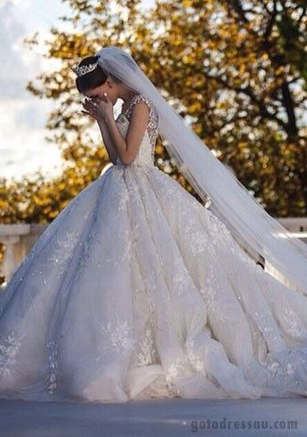White and Gold Wedding. Sweetheart Corset Ballgown Dress. wedding dress wedding dresses