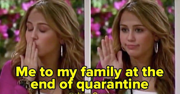 People Are Memeing An Old Clip Of Hannah Montana Leaving Home And