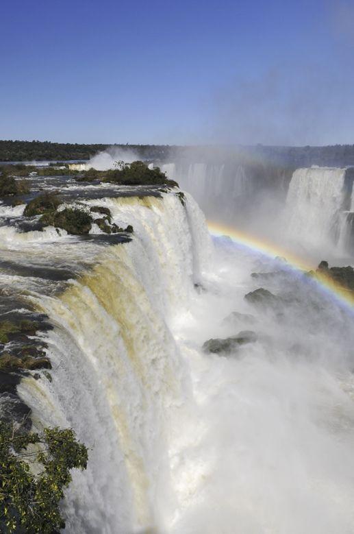 Garganta del Diablo, Iguazu Waterfalls Brazil/Argentina