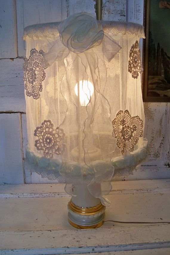 Best 25 large lamp shades ideas on pinterest large lamps luck large lamp shade white shabby chic handmade sheer soft ruffled lighting decor anita spero mozeypictures