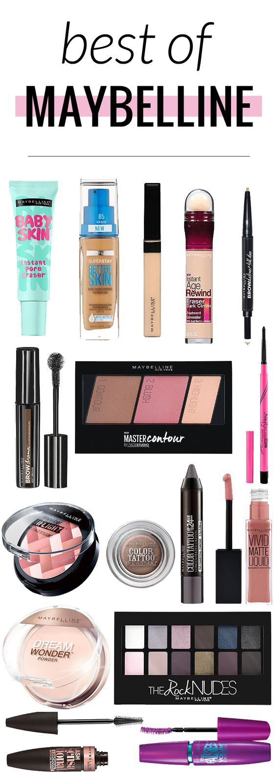One Brand Makeup Look - Maybelline-Ooh, it�s an all drugstore makeup look! Even better � it�s using all Maybelline products!…