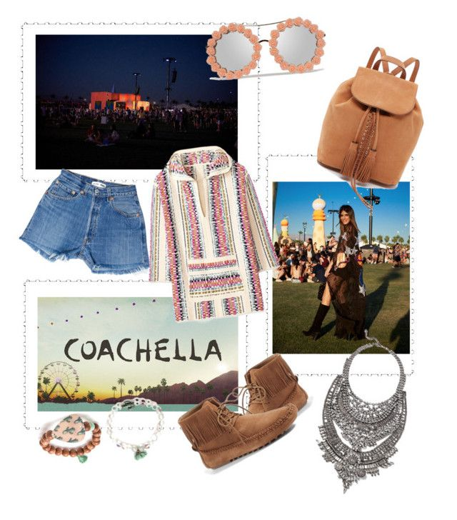 """COACHELLA 2017 #festivalfashion"" by egaemgyu on Polyvore featuring Tory Burch and festivalfashion"