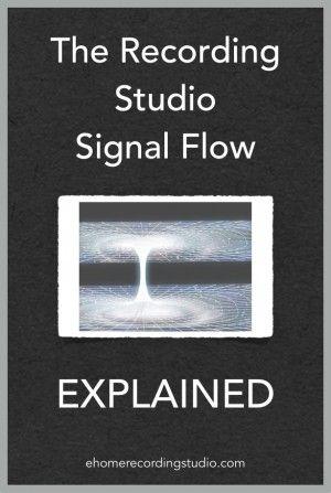 Recording Studio Signal Flow http://ehomerecordingstudio.com/recording-studio-signal-flow-explained/
