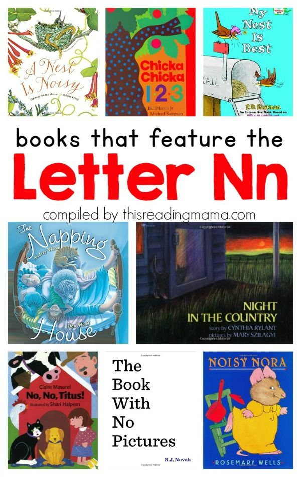 Letter N Book List ~ Books that Feature the Letter N | Best of