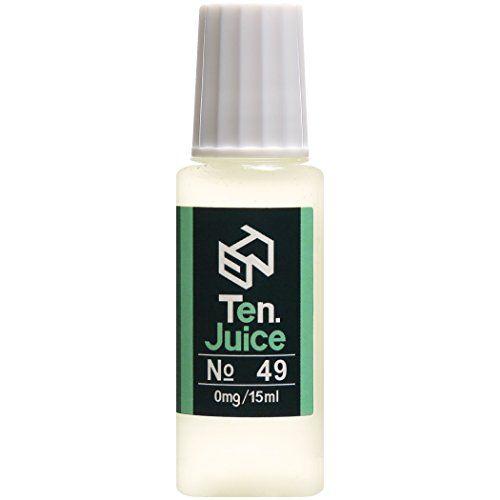 電子タバコリキッド 国産 Ten.eJuice NO.49 ライムソーダ風味 15ml Ten.Project VAPEリキッド Ten.Project http://www.amazon.co.jp/dp/B00SQZ19H4 #電子タバコリキッド #電子タバコ #vapeリキッド #vape #ejuice #eliquid