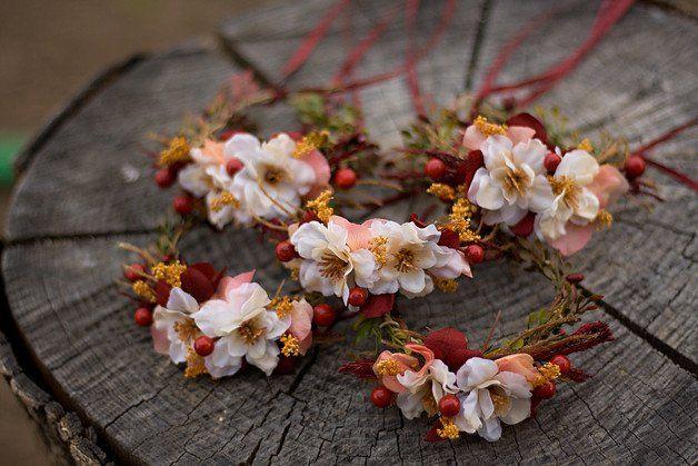 Flower bracelet wedding wrist corsage