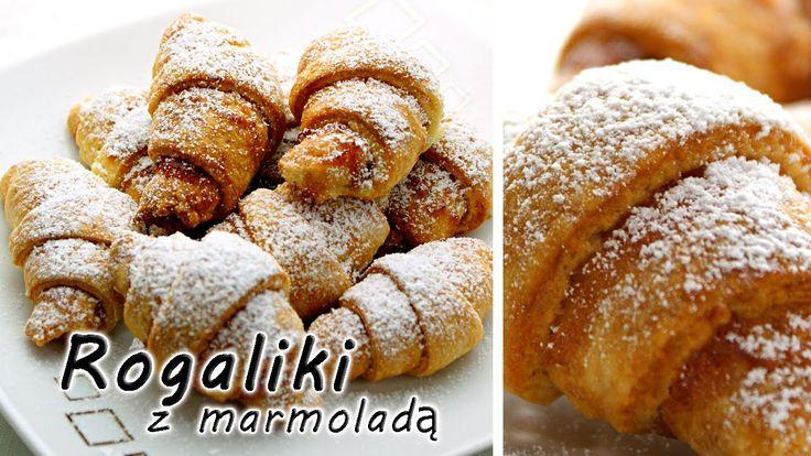 Rogaliki z marmoladą | smaczne-przepisy.pl