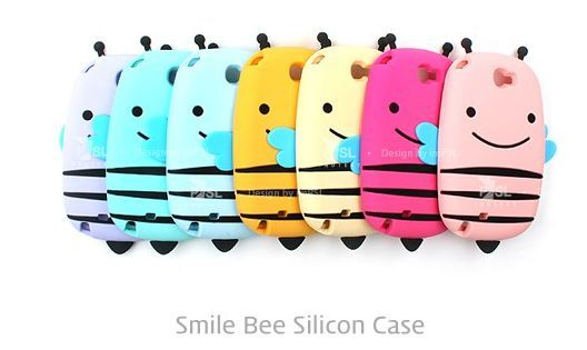 Cute Smile Honey Bee Case for LG Vu 3