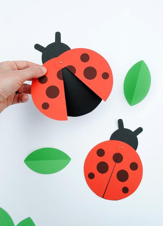 FREE Printable Ladybird Party Invite