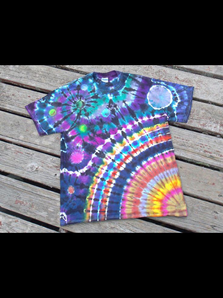Diy Tye-Dye shirt