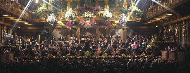 Concierto de Año Nuevo - No hay nada mejor que comenzar el año con el concierto que ha adquirido fama universal. Concierto del Año Nuevo en la Opera de Estado de Viena © Oesterreich Werbung, Trumler