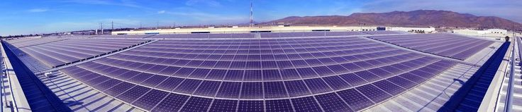 Mexico's Largest Rooftop Solar Array Features SolarWorld Solar Panels with Racking System Design