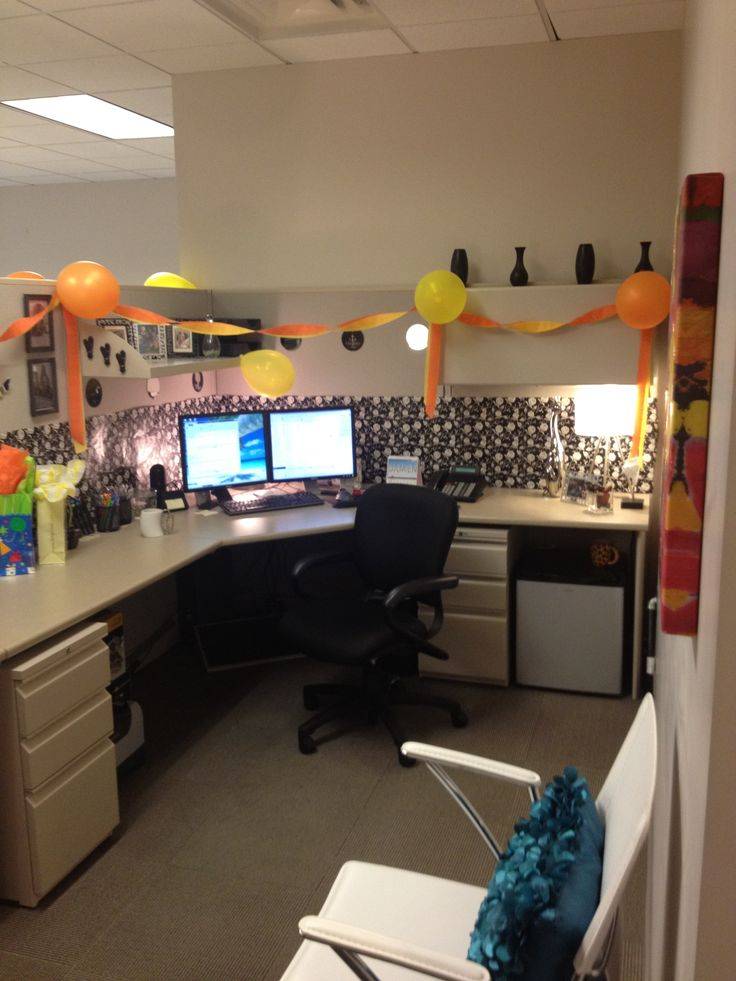 Friends Decorated With Balloons For My Birthday!