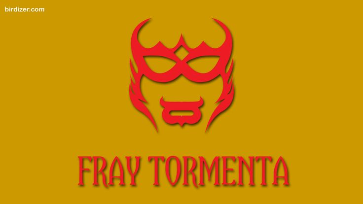 Fray Tormenta máscara wallpaper
