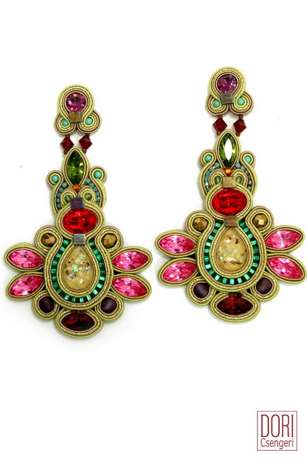 Shop the press : Maharajah Showstopper Earrings