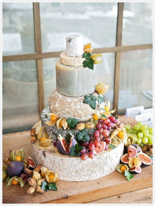 Not sure whether to categorise this under cheese or cake. Pretty awesome either way