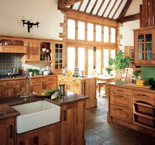 die 25+ besten küchendeko im landhausstil ideen auf pinterest ... - Küche Landhausstil Selber Bauen