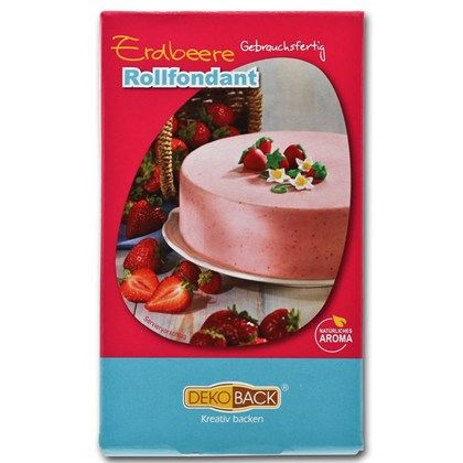 Sockerpasta jordgubb