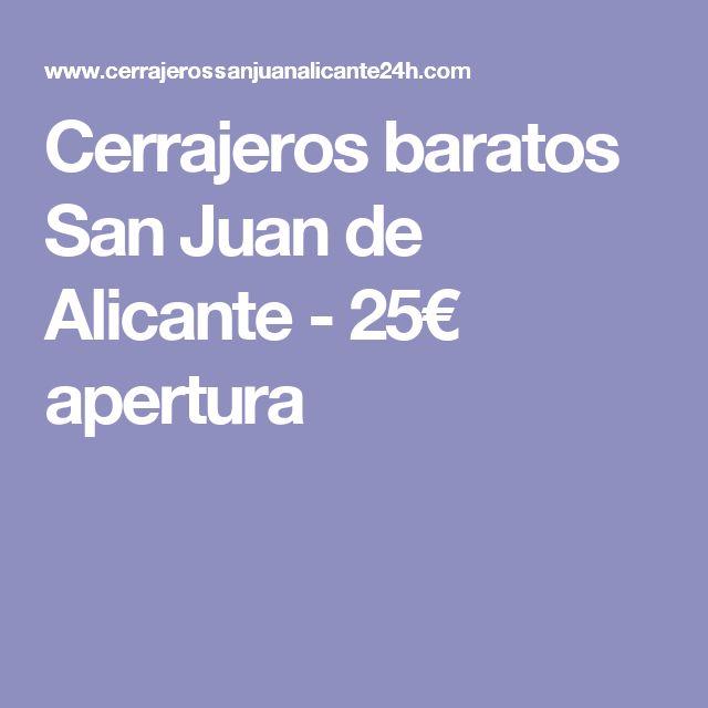 http://www.cerrajerossanjuanalicante24h.com/  Cerrajeros San Juan Alicante  Cerrajeros San Juan Alicante es la mejor empresa de cerrajería económica, rápida y profesional a la que usted puede acudir si tiene una avería en su domicilio, negocio o local comercial.  #servicios, #cerrajería, #negocios, #empresas, #cerraduras, #cerrajerossanjuanalicante24h