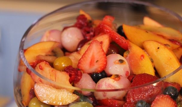 Tropical Fruit Salad : Food : The Home Channel