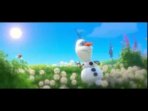 Frozen, Olaf Verano version en español - YouTube