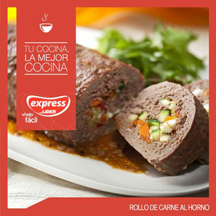 Rollo de carne al horno #Recetario #Receta #RecetarioExpress #Lider #Food #Foodporn #Mundial #Australia