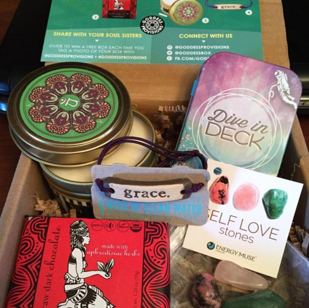 Goddess Provisions, $33 | 17 Gorgeous Subscription Boxes Stylish People Will…
