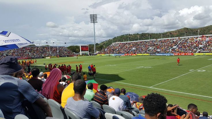 So it's on.... The 2017 Rugby League World Cup. The best have come to Papua New Guinea #rlwc2017 #pngKumuls #png