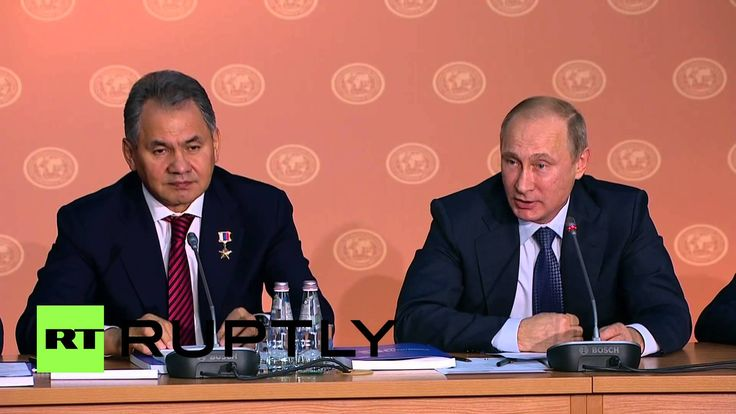 Russia: Putin says 'love is the meaning of life' at Geographical Society...